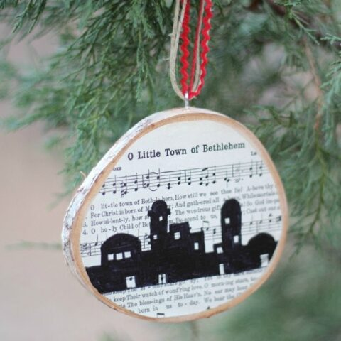 O Little Town of Bethlehem Ornament