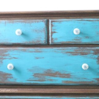 distressed-blue-dresser-top