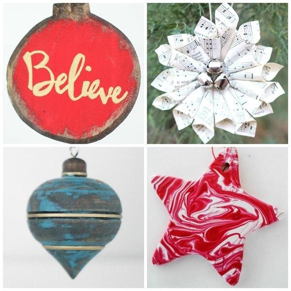 handmade Christmas ornament tutorials