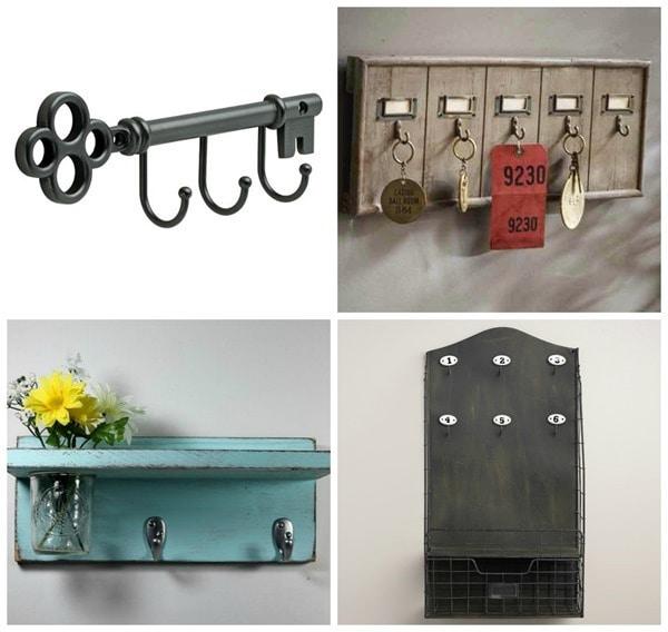 key hooks for your command center