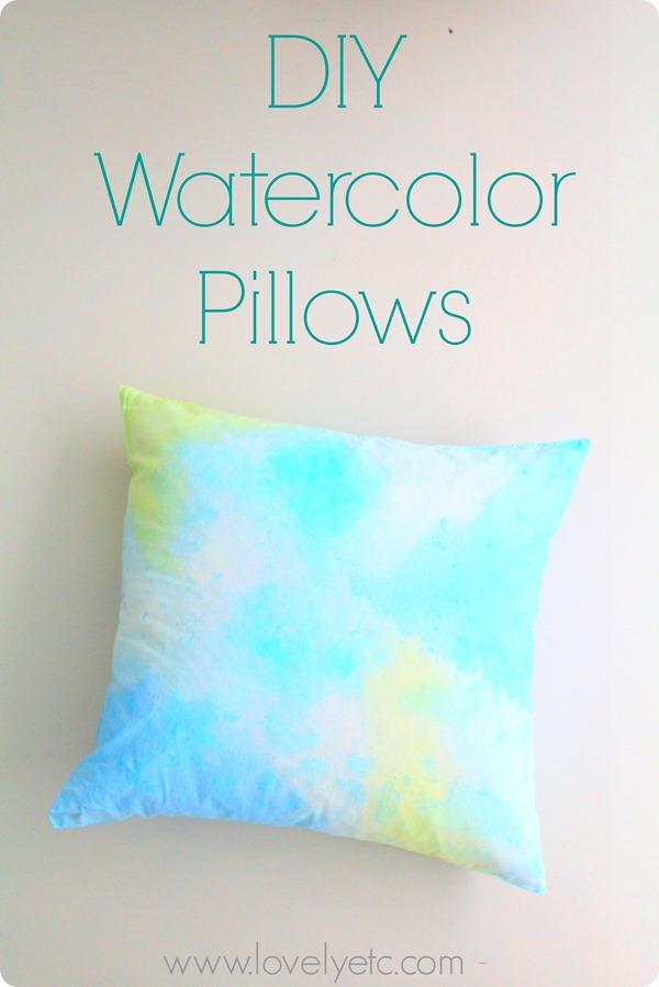 watercolor pillows 12