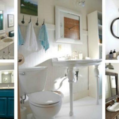 11 Gorgeous DIY Bathroom Renovations