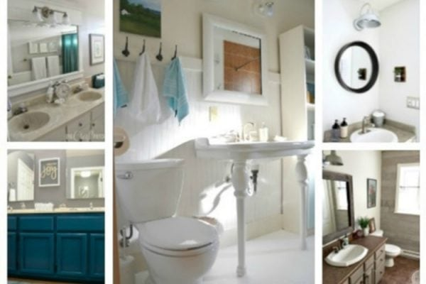 11 Gorgeous DIY Bathroom Renovations