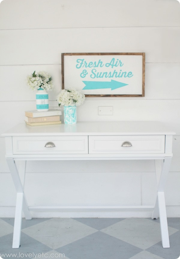 fresh air and sunshine sign