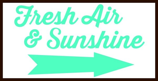 fresh air and sunshine picmonkey design