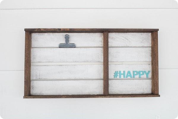 happy photo clipboard