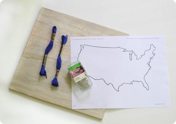materials for diy string art