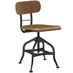 industrial metal and wood bar stool