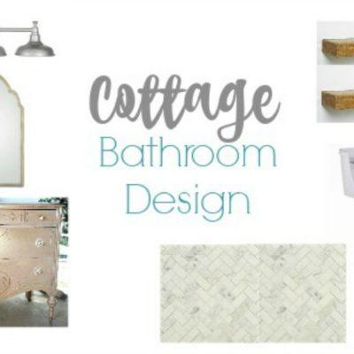 Cottage bathroom design plans