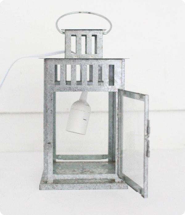 dangling lantern lamp