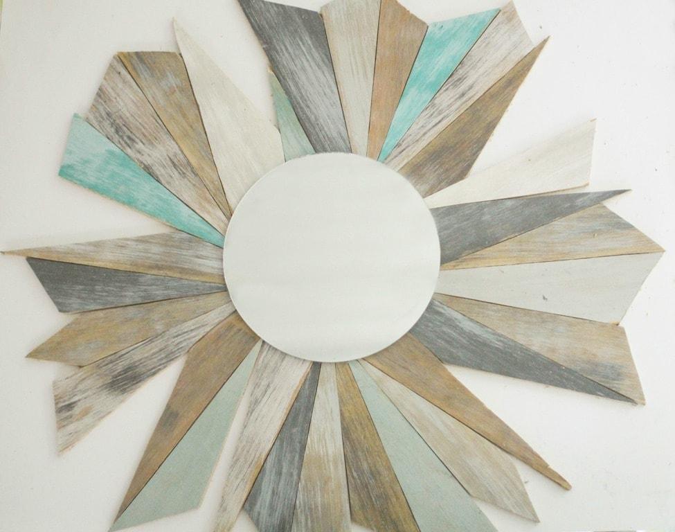 Diy Beachy Driftwood Mirror