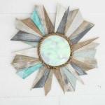 DIY Beachy Sunburst Mirror