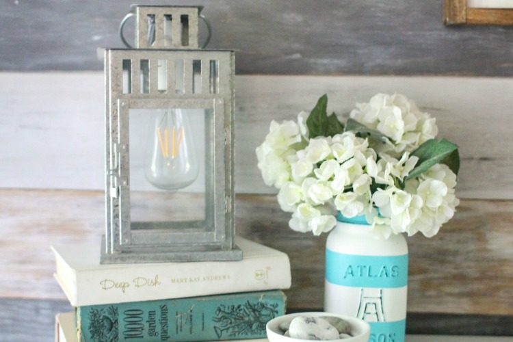 How to turn a lantern into a lamp