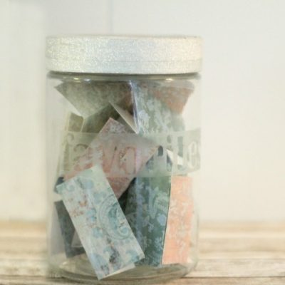 Our Memory Jar Tradition