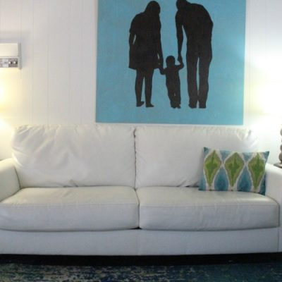 Family Room Plans: One Room Challenge