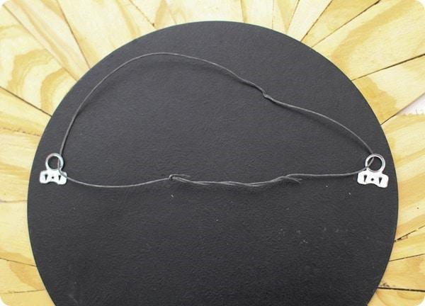 hanger for sunburst mirror