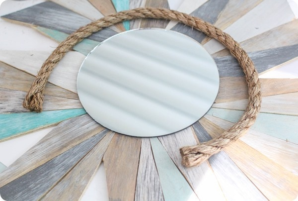 how to make rope mirror