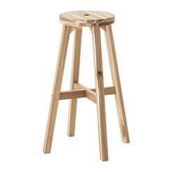 inexpensive wood bar stool