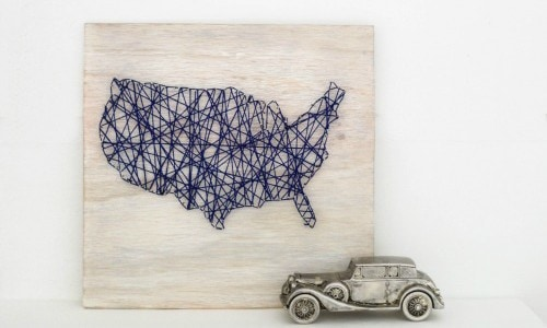 map string art