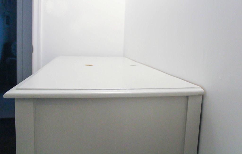 how to make a dresser top