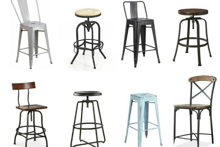 Industrial Bar Stools Under 100 Lovely Etc