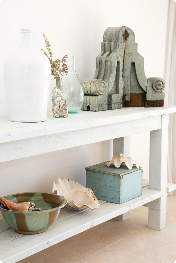 Beach cottage decorating from shabby fufu