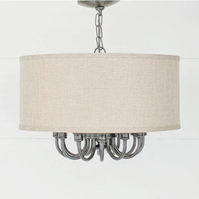 How to Completely Transform an Ugly Light Fixture