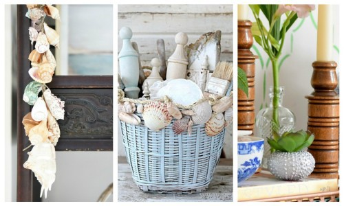 Seashell Decor: 17 Gorgeous Seashell Crafts