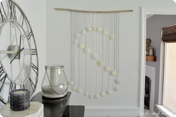 seashell monogram from Table and Hearth
