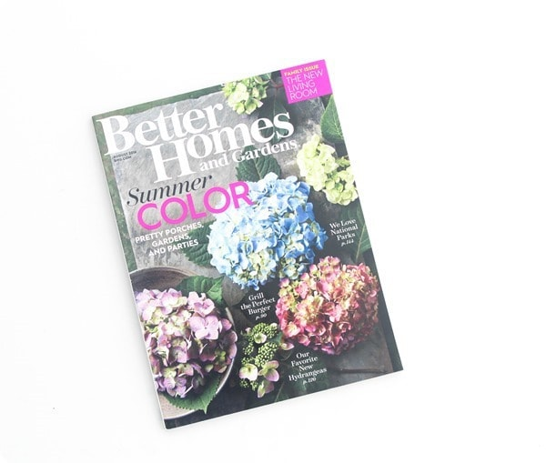 better homes and gardens august 2016