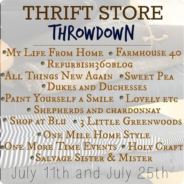 thrift store throwdown