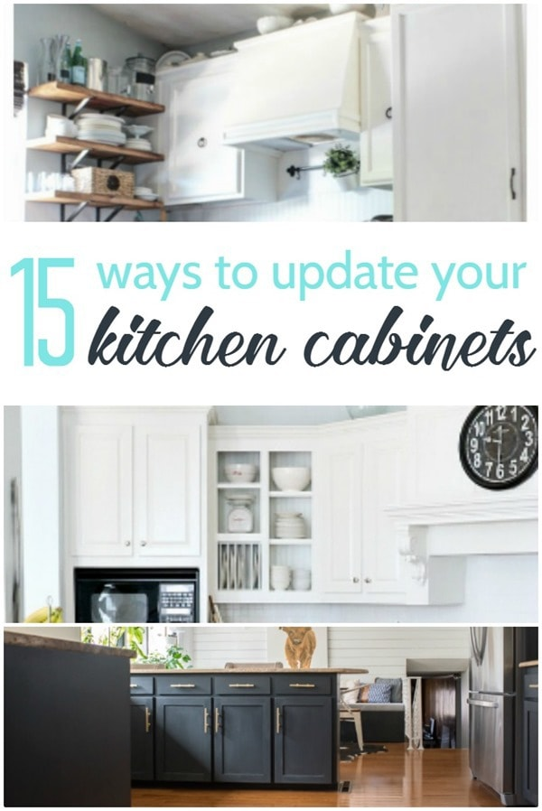 15 ways to update kitchen cabinets
