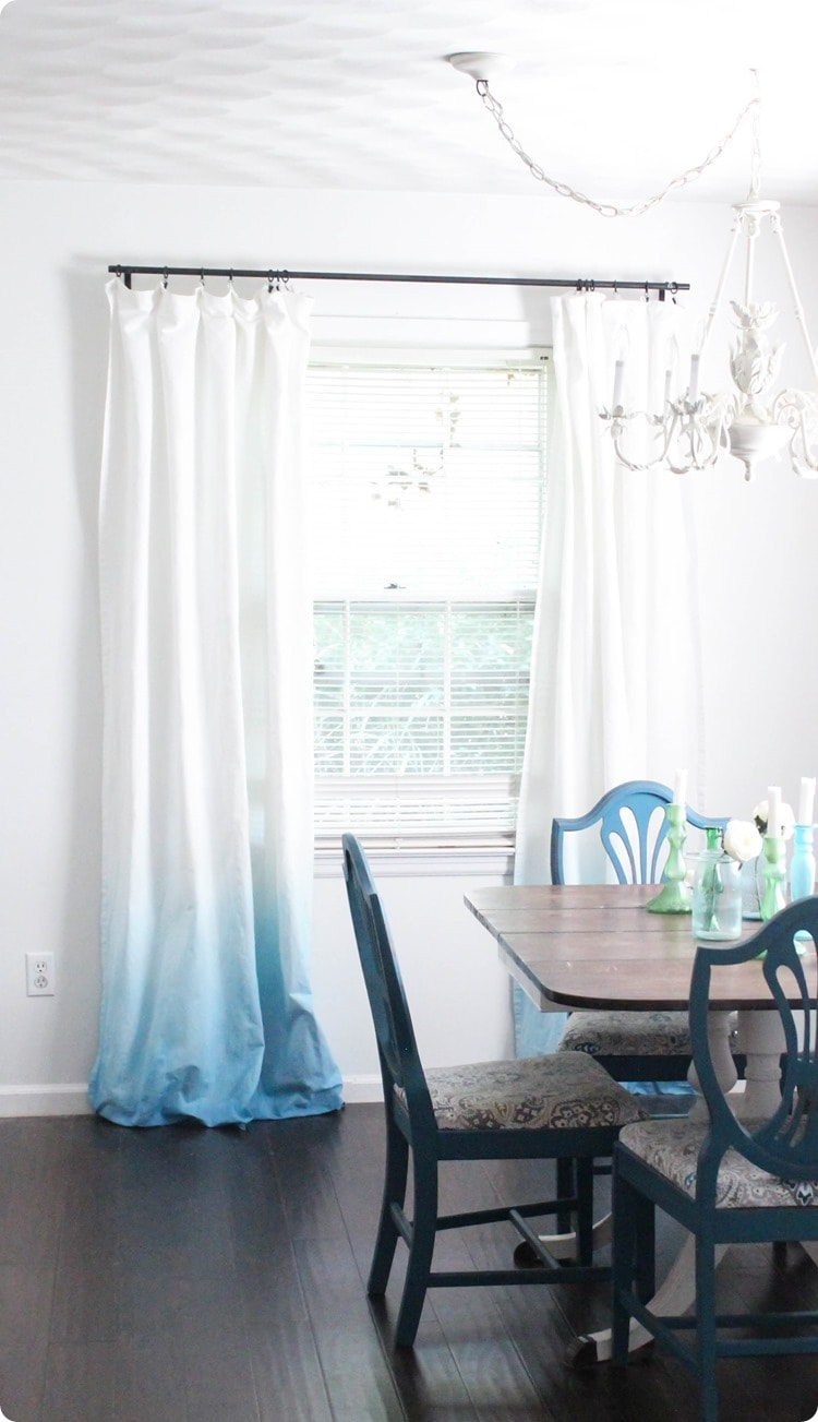 How To Make Ombre Curtains Autumn Ombre