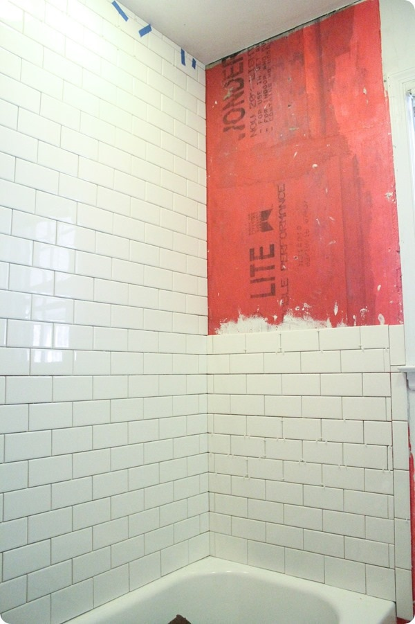 Nice Installing Subway Tile Shower Surround
