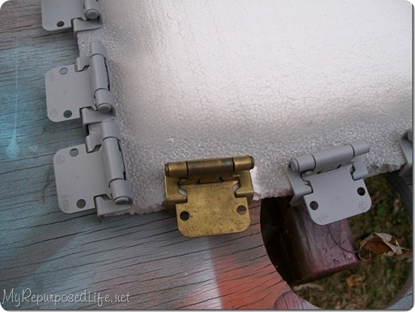 painting hinges