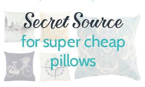 secret source for cheap pillow covers