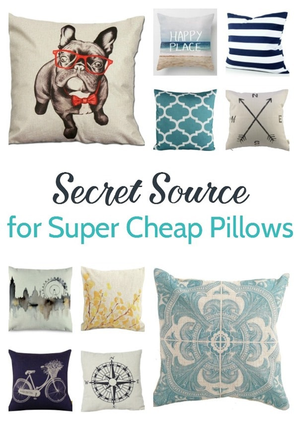 My secret source for cheap throw pillow coversLovely Etc
