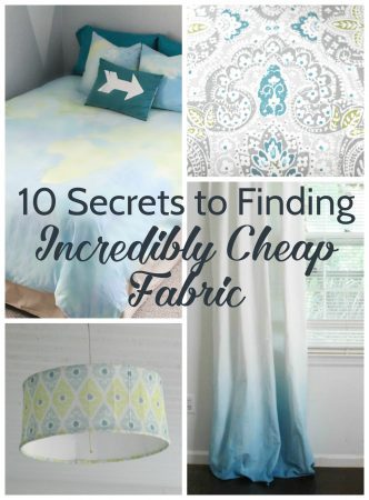 10 secrets to finding incredibly cheap fabric 2