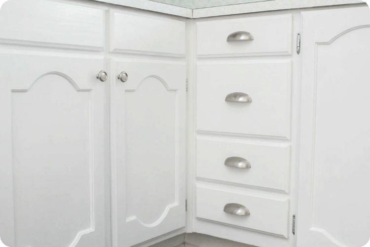 Inexpensivebrushednickeldrawerpulls White Drawer Pulls W76