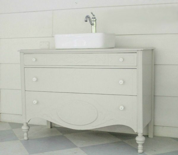 modern antique dresser vanity