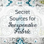 10 Secrets for Finding Incredibly Cheap Fabric