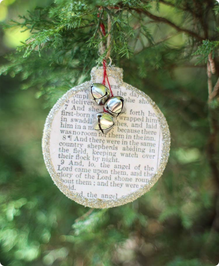 Birth of Christ Christmas Ornament - Lovely Etc.