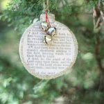 Birth of Christ Christmas Ornament