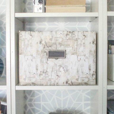 cardboard-box-repurposed-as-storage