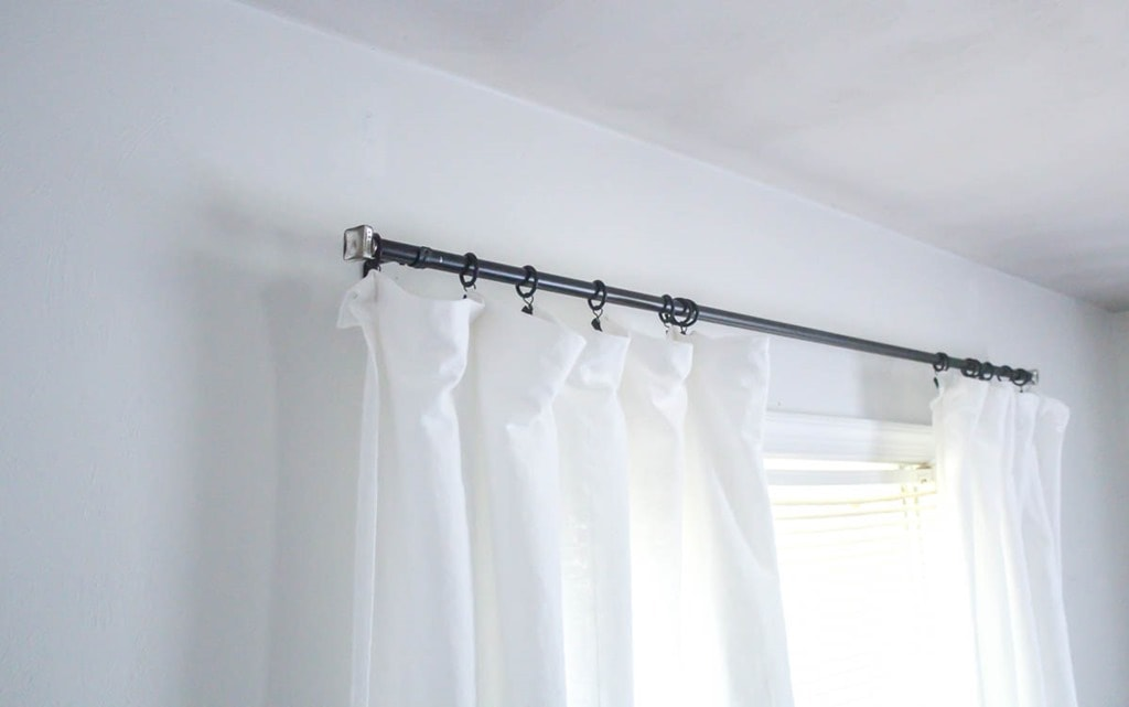 Add Style To Cheap Curtain Rods With Diy Finials Lovely Etc