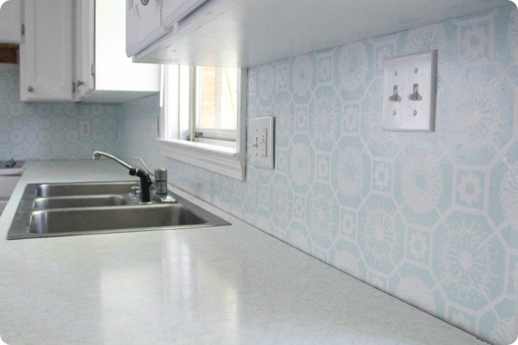 easy diy backsplash