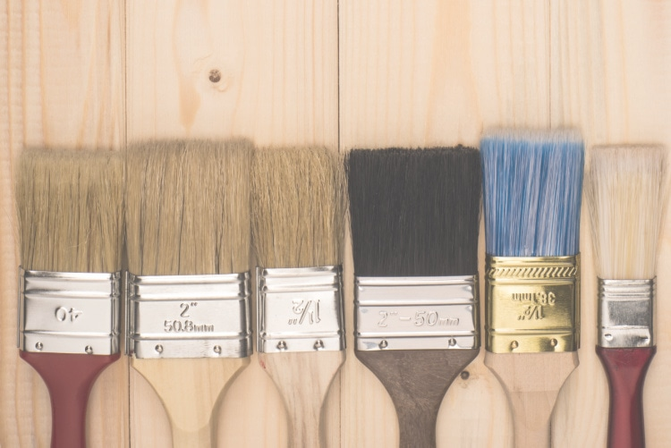 Paint Brush For Smooth Finish
