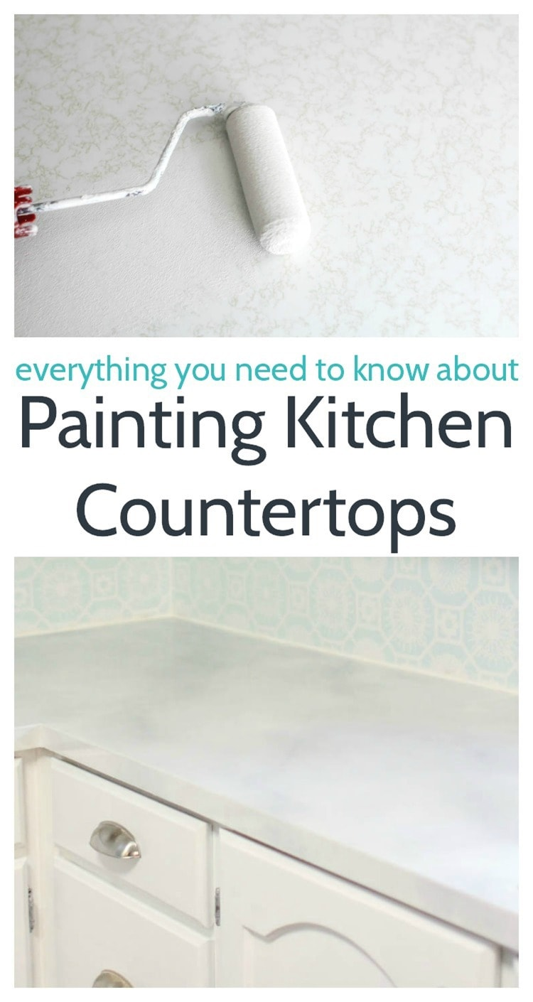 Painted Countertops Painting Your Countertops To Look