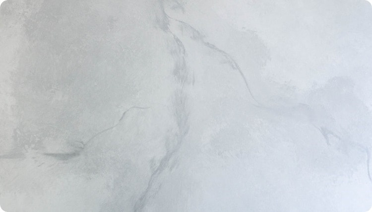 painting a gray and white marble pattern