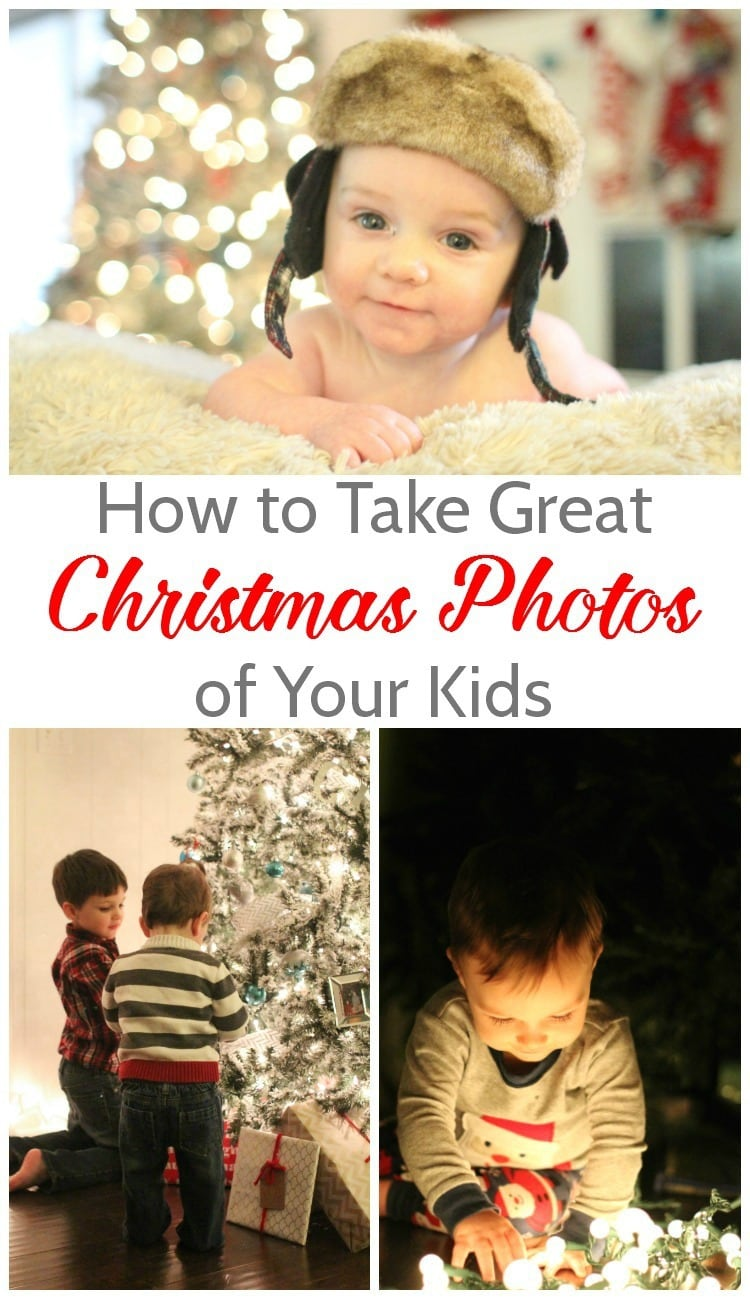 how to take great christmas photos of your kids